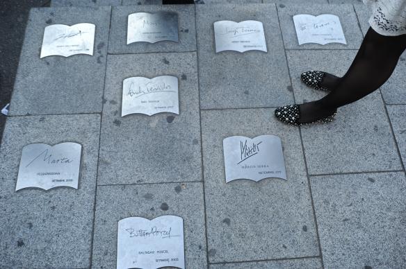 Homenaje a los escritores...quizás, algún día...